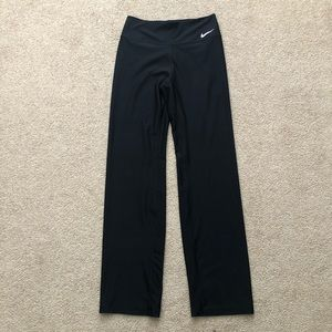 Nike Dry Fit Black Yoga Workout Bootcut Pants